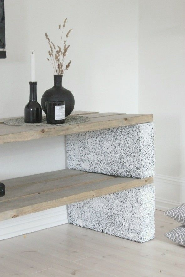Astonishing Diy Cinder Block Furniture Decor Ideas 19