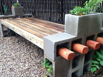 Astonishing Diy Cinder Block Furniture Decor Ideas 30