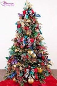 Easy Christmas Tree Decor With Lighting Ideas 11