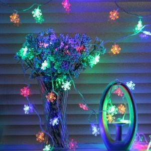 Easy Christmas Tree Decor With Lighting Ideas 32