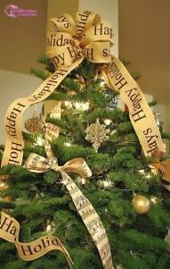 Easy Christmas Tree Decor With Lighting Ideas 33