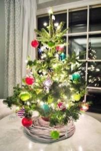 Easy Christmas Tree Decor With Lighting Ideas 36