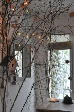 Elegant Christmas Lights Decor For Backyard Ideas 15