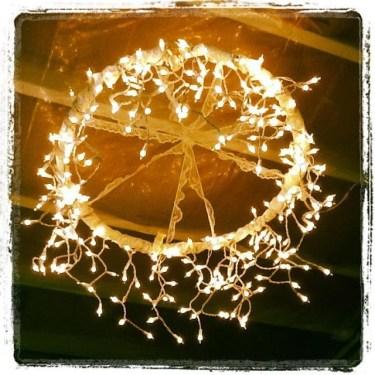 Elegant Christmas Lights Decor For Backyard Ideas 35