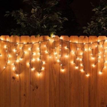 Elegant Christmas Lights Decor For Backyard Ideas 36
