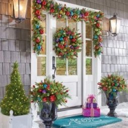 Extraordinary Outdoor Light Christmas Ideas 04