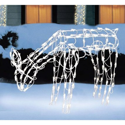 Extraordinary Outdoor Light Christmas Ideas 08