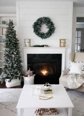Fabulous Rock Stone Fireplaces Ideas For Christmas Décor 26