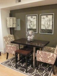 Luxurious Small Dining Room Decorating Ideas 11