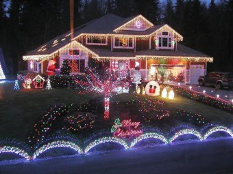 Marvelous Outdoor Lights Ideas For Christmas Decorations 33