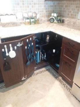 Minimalist Kitchen Area Firm And Diy Storage Ideas 21