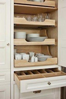 Minimalist Kitchen Area Firm And Diy Storage Ideas 39