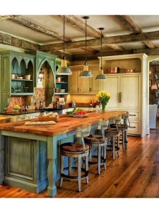 Newest French Country Kitchen Decoration Ideas 05