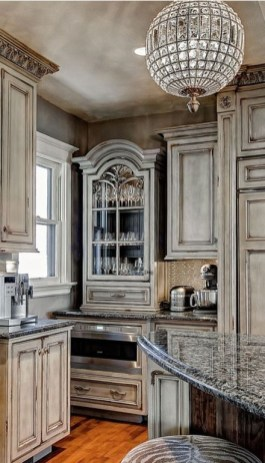 Newest French Country Kitchen Decoration Ideas 35