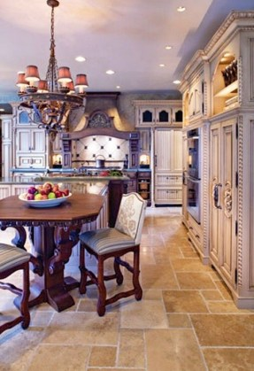 Newest French Country Kitchen Decoration Ideas 39