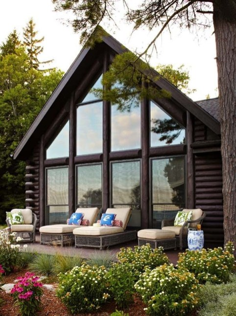 Outstanding Lake House Exterior Designs Ideas Will Totally Love 29