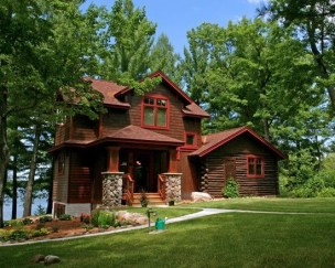 Outstanding Lake House Exterior Designs Ideas Will Totally Love 31