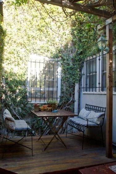 Popular Apartment Balcony For Christmas Décor Ideas 06
