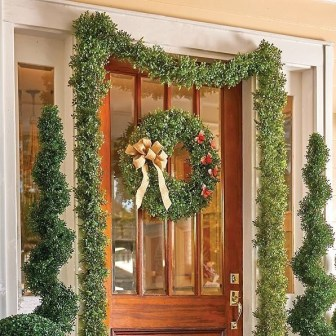 Pretty Colorful Winter Plants And Christmas For Frontyard Decoration Ideas 02