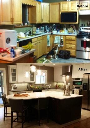 Pretty Farmhouse Kitchen Makeover Ideas On A Budget 29