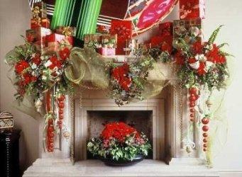 Stunning Fireplace Mantel Decor For Christmas Ideas 19