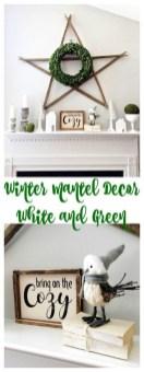 Stunning Fireplace Mantel Decor For Christmas Ideas 22