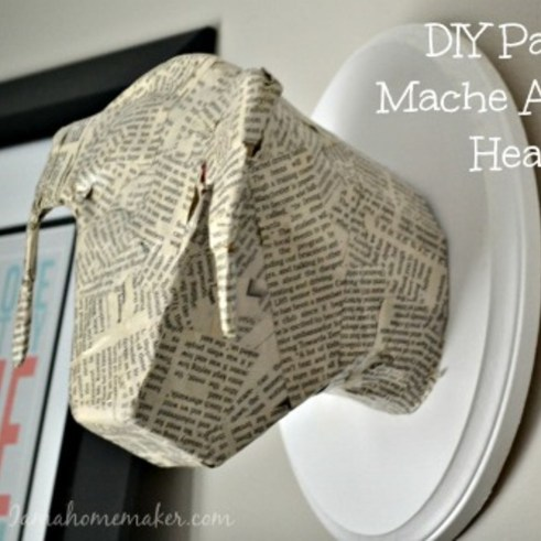 Stunning Paper Mache Ideas For Christmas 03