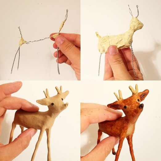 Stunning Paper Mache Ideas For Christmas 24