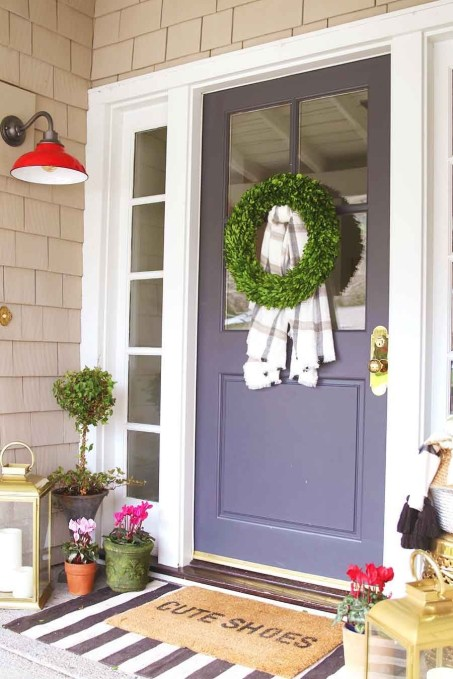 Amazing Front Porch Design Ideas For Valentines Day07