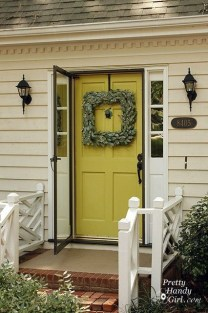 Amazing Front Porch Design Ideas For Valentines Day34