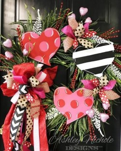 Amazing Front Porch Design Ideas For Valentines Day37