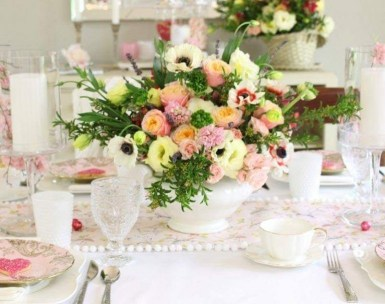 Awesome Flower Decoration Ideas For Valentines Day 21
