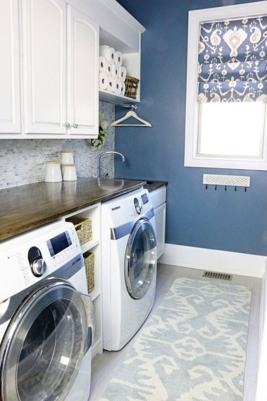 Best Small Laundry Room Design Ideas36