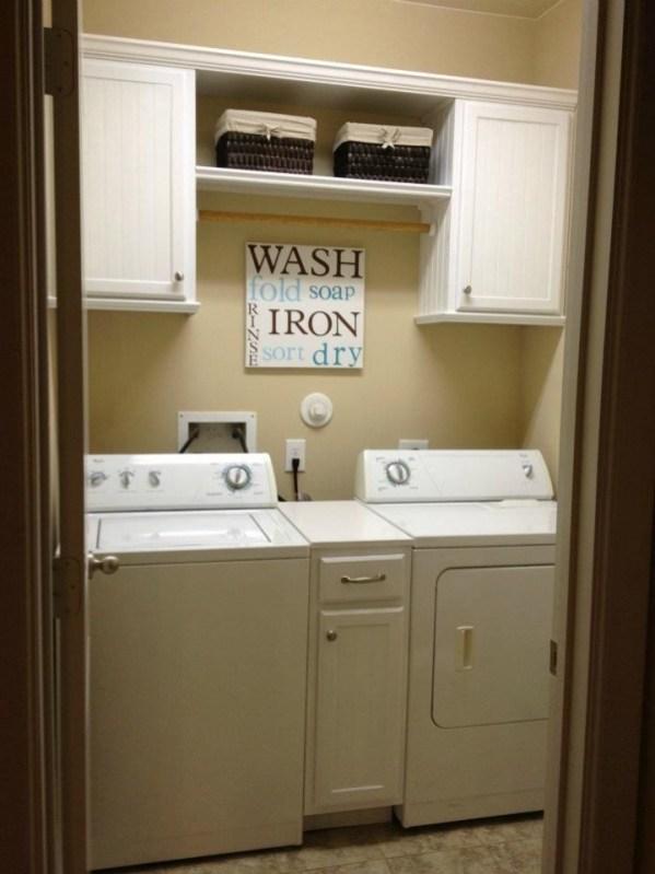 Best Small Laundry Room Design Ideas37