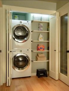 Best Small Laundry Room Design Ideas39
