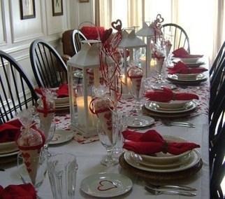 Cheap Valentine Table Decoration Ideas03