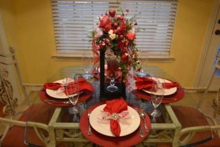 Cheap Valentine Table Decoration Ideas22