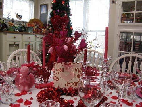 Cheap Valentine Table Decoration Ideas32