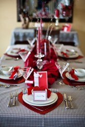 Cheap Valentine Table Decoration Ideas35