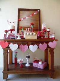 Cheap Valentine Table Decoration Ideas45