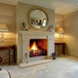 Fabulous Vintage Fireplace Design Ideas14