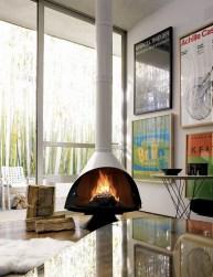 Fabulous Vintage Fireplace Design Ideas23