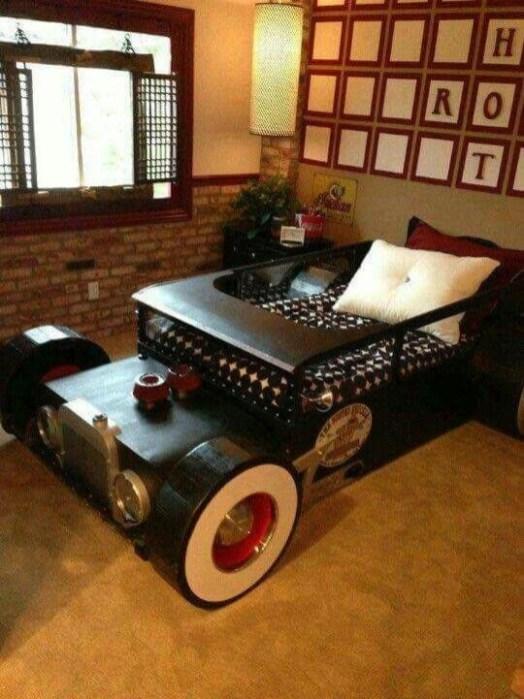 Gorgeous Diy Kids Car Bed Ideas04