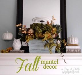 Incredible Halloween Fireplace Mantel Design Ideas24