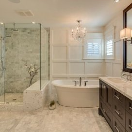 Minimalist Master Bathroom Remodel Ideas31