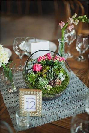 Wonderful Cactus Centerpieces Ideas15