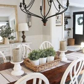 Adorable Farmhouse Dining Room Design Ideas14