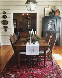 Adorable Farmhouse Dining Room Design Ideas16