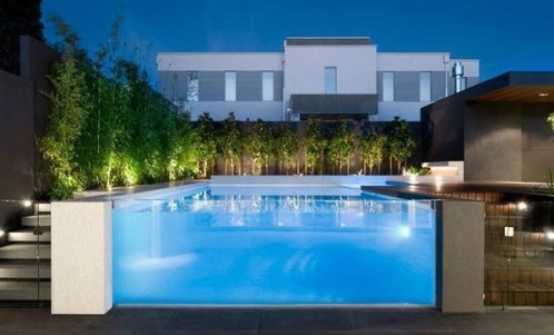 Amazing Glass Pool Design Ideas For Home21