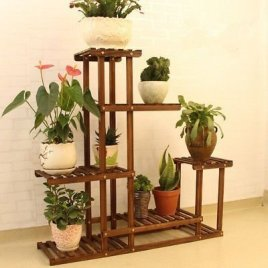 Awesome Stand Wooden Plant Ideas01